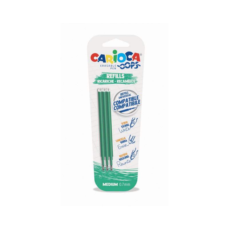 43041/04 - CARIOCA - Ricariche penna Oops - Recambios bolígrafo Oops - Refill Oops Pen - Recharge Stylo Ooops