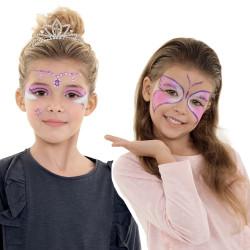 43049 - CARIOCA - Colori per la pelle MASK UP PRINCESS 3 pz - Colores para la piel - Face paint - Peintures pour le visage