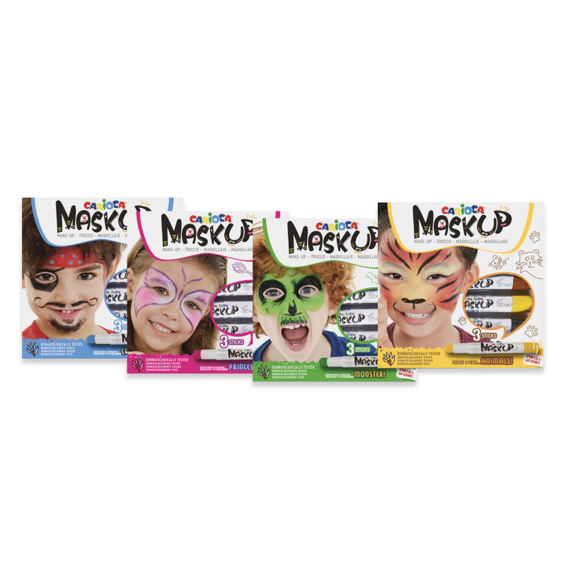 53224 - CARIOCA - Set Mask Up - 12 Pz
