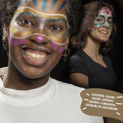 43155 - CARIOCA - Truccabimbi Metallic - Maquillaje Metallic - Make Up Metallic - Maquillage Metallic