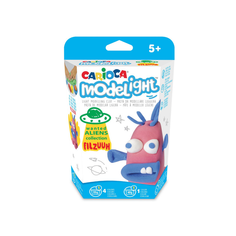 43143 - CARIOCA - Modelight Scatola Gioco Fillzuuh - Modelight Play Box Fillzuuh - Modelight Caja Juego Fillzuuh