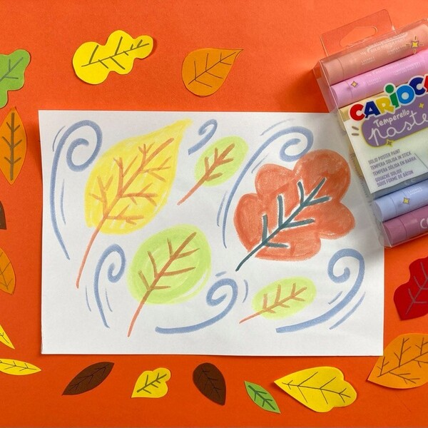 Di quanti colori è fatto l'autunno? Tutta la fabbrica di CARIOCA non basta, sono mille in più! 🍁🍂 Ora aggiungiamo anche i Temperello Pastel: un concentrato di morbidezza, divertimento e pastellosità tutto da sfumare, mischiare e combinare per dipingere una stagione davvero super colorata!  Scoprili sul nostro sito!  #cariocaitalia #cariocacreatetolearn #cariocatemperello #cariocapastel #temperasolida #coloripastello #pastelloso #coloriatempera #coloringisfun #diy #lavorettiperbambini #lavoretticreativi #illustrazione